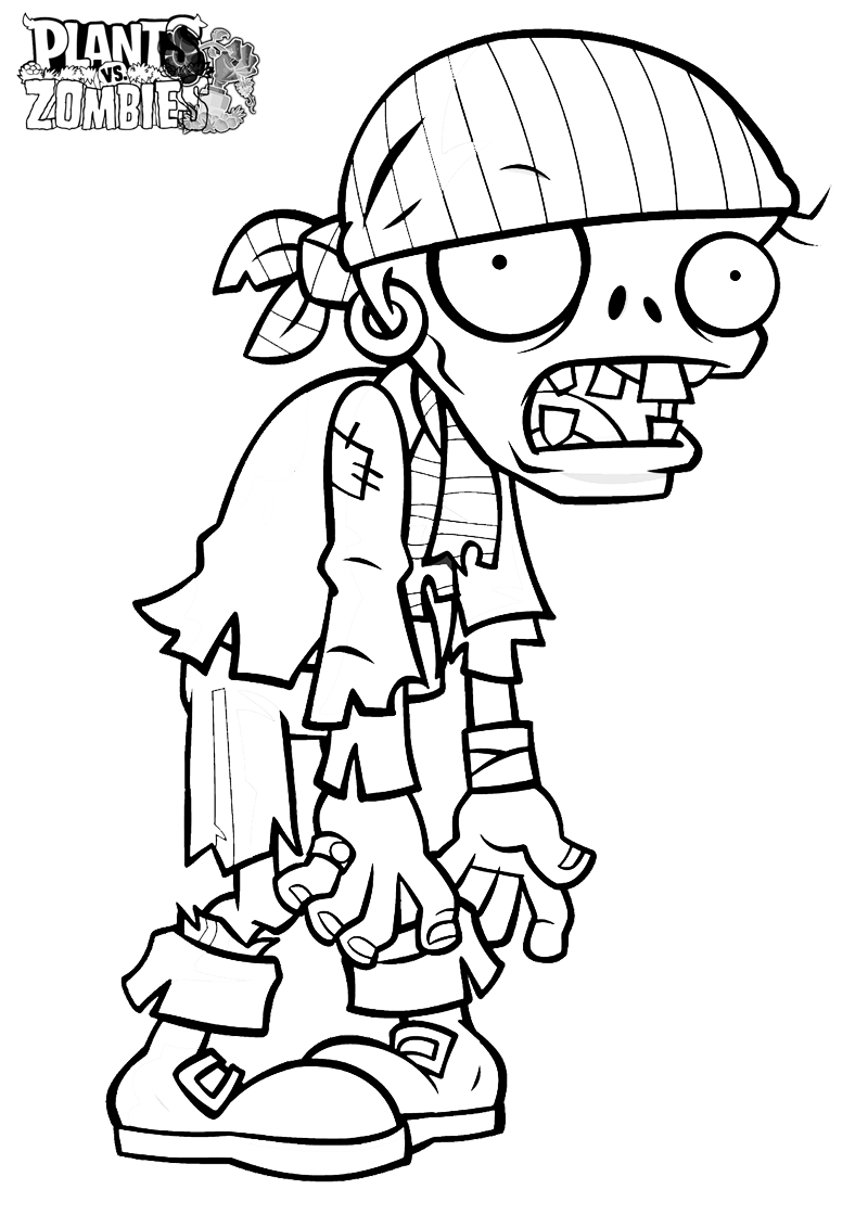 zombie coloring pages | Only Coloring Pages