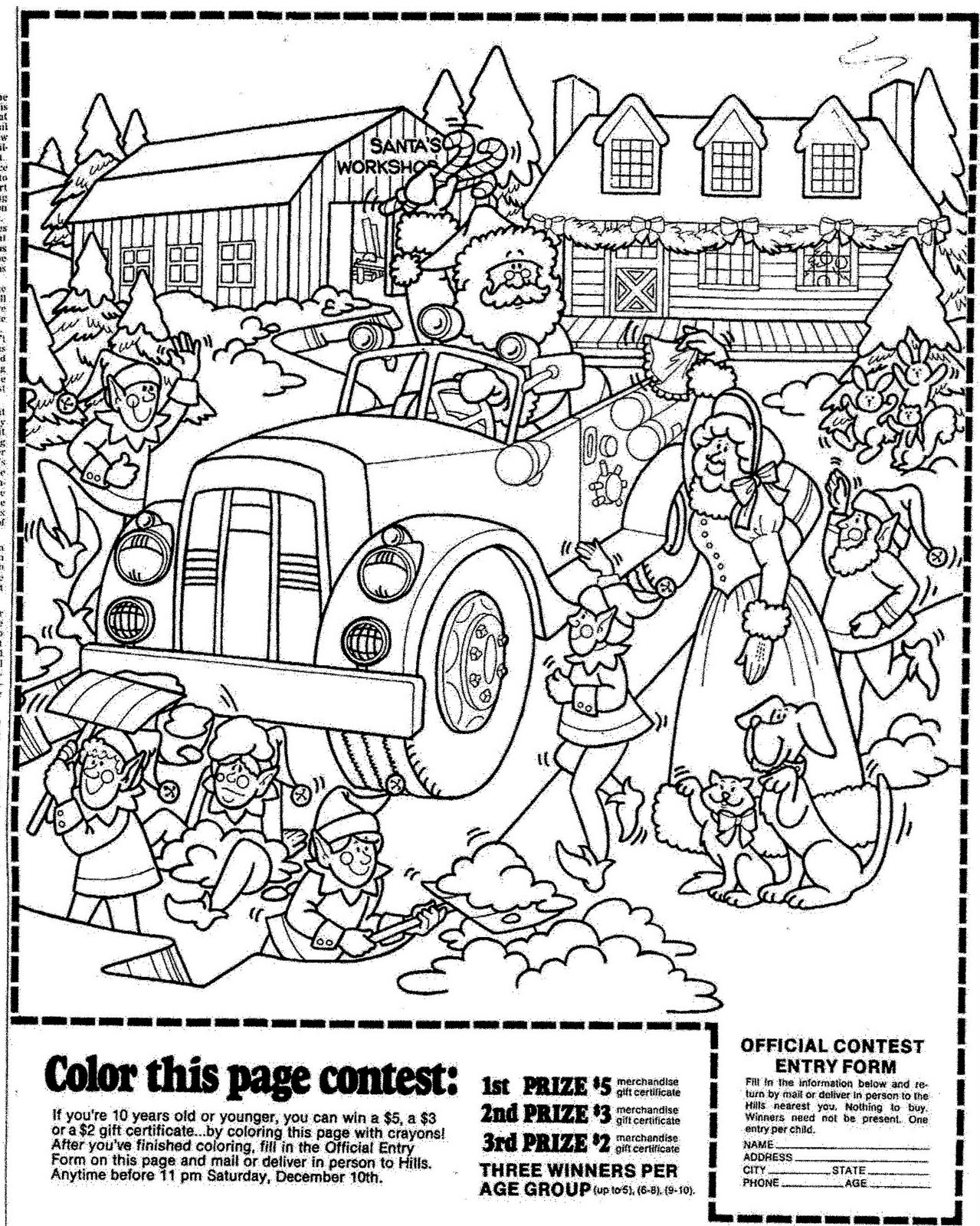 Coloring Contest Pages Coloring Home
