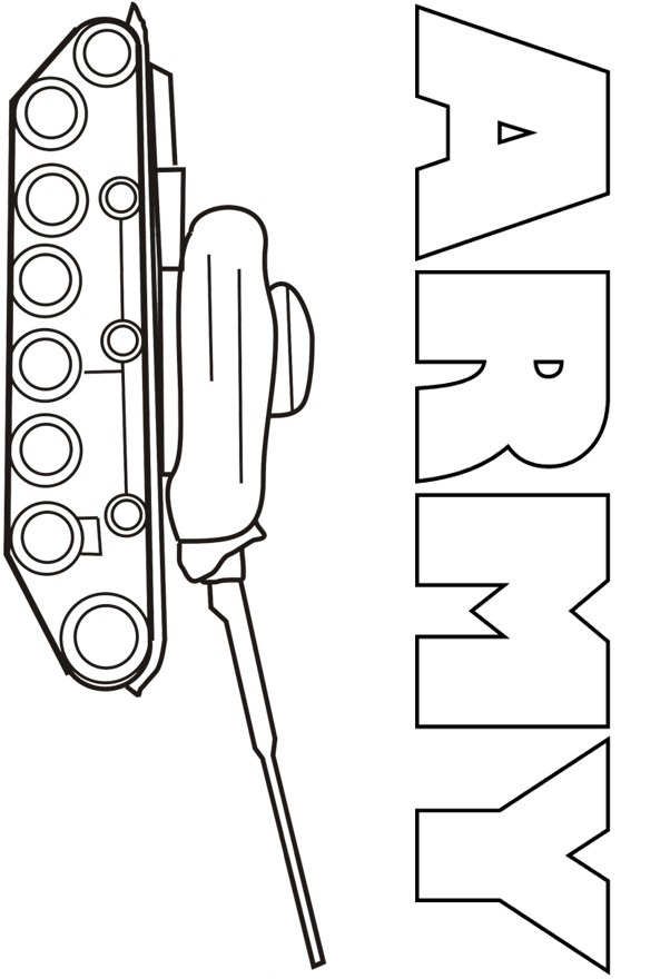 army tank coloring pages coloring