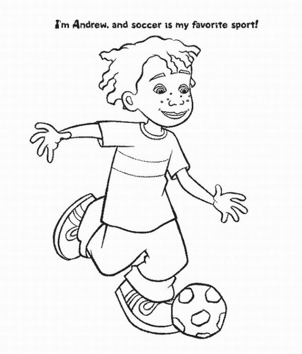 Little Bill Coloring Page