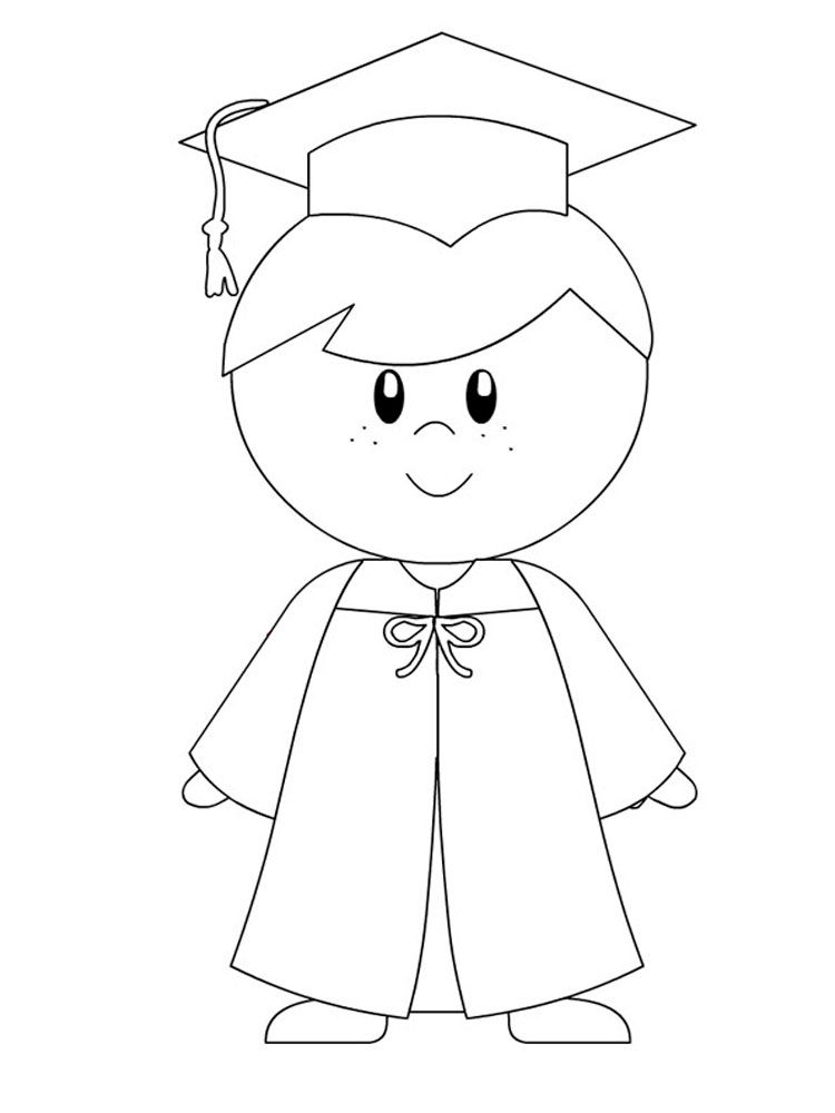 Graduation coloring pages to print coloring home for Graduation coloring pages to print