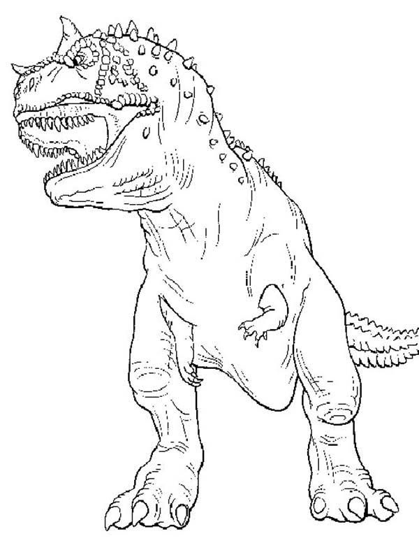 Cute T rex Coloring Page Coloring Home