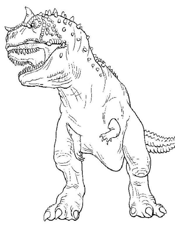 T Rex Coloring Page: The Dinosaur King - VoteForVerde.com ...