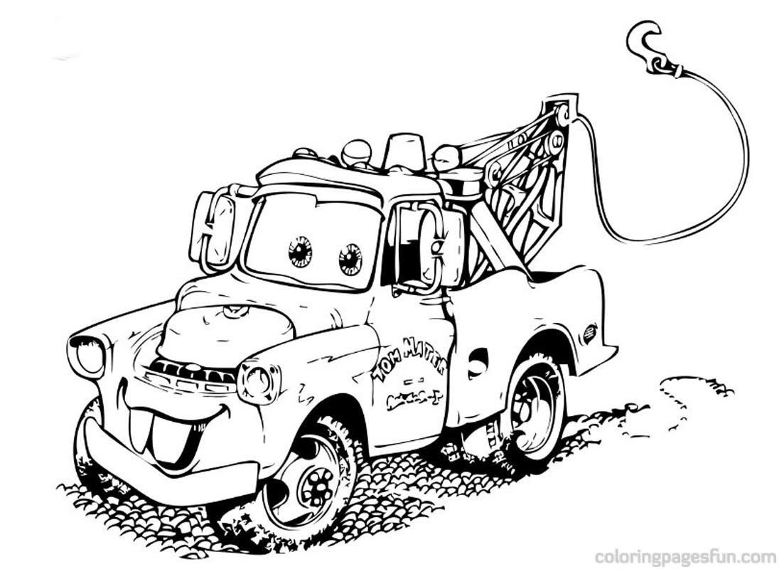 Pixar Cars Coloring Pages Pdf Cars Coloring Page Free. Kids ...