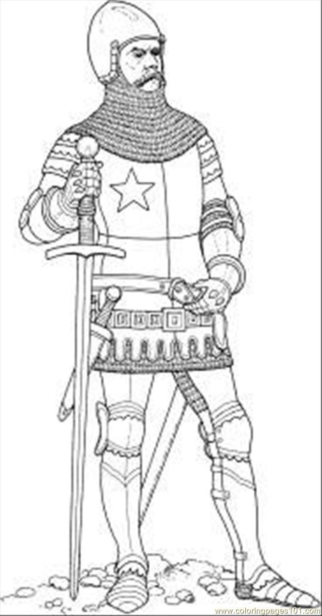 fiver knights coloring pages | Knight Coloring Pages Printable - Coloring Home
