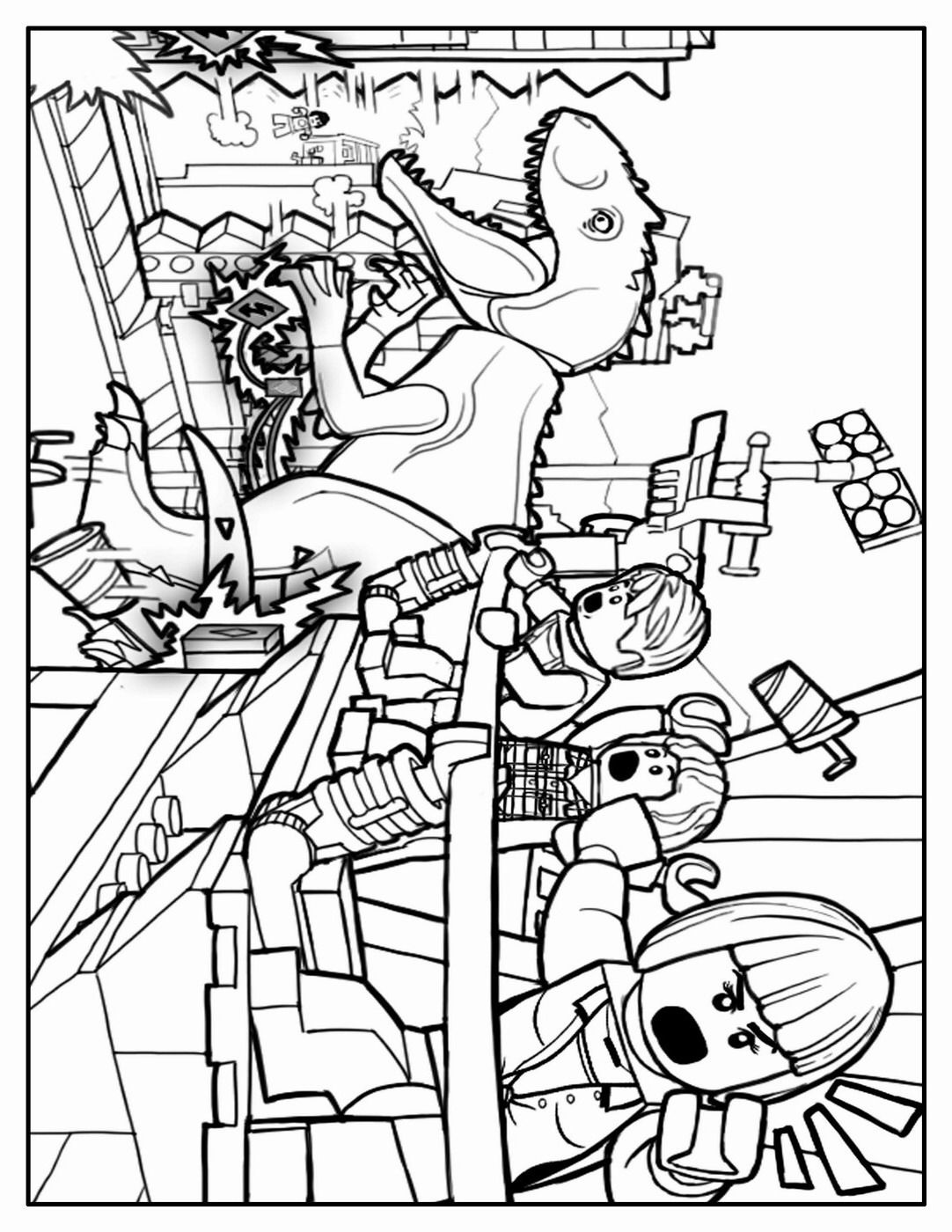 Printable coloring pages jurassic world - 9 Pics Of Lego Printable Coloring Pages Jurassic World Jurassic