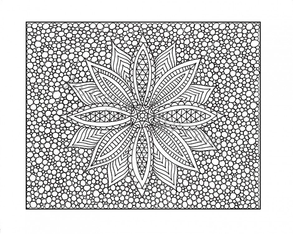 complicated house coloring pages-#41