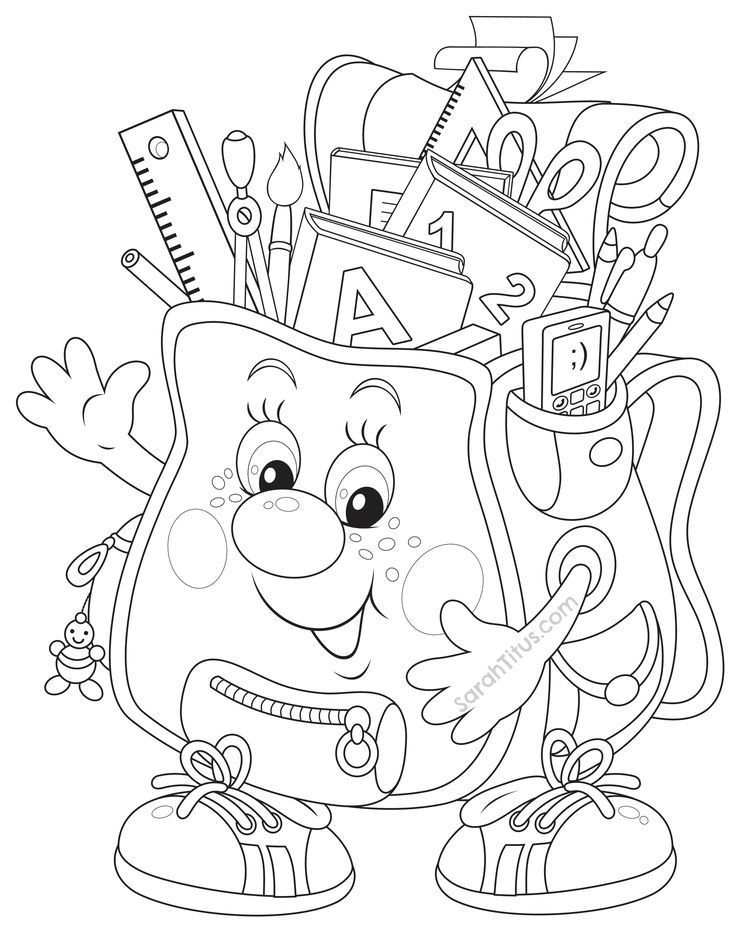printable coloring pages middle school - photo#19