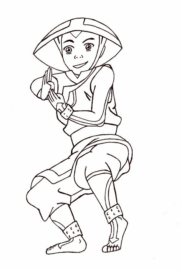 Avatar legend of korra coloring pages coloring home for Avatar the last airbender coloring pages