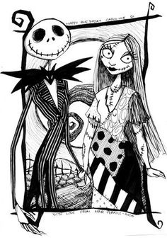 Free Printable Jack Skellington Coloring Pages High Quality