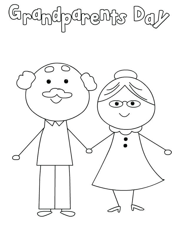 Grandparents Day Coloring Pages - Best ...bestcoloringpagesforkids.com