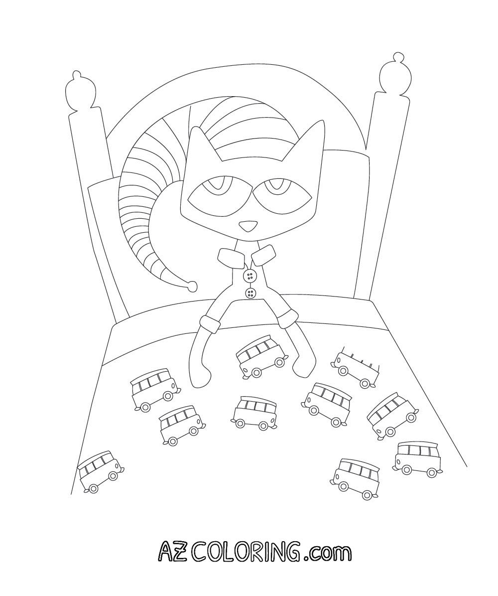 Pete The Cat Printables Coloring Home