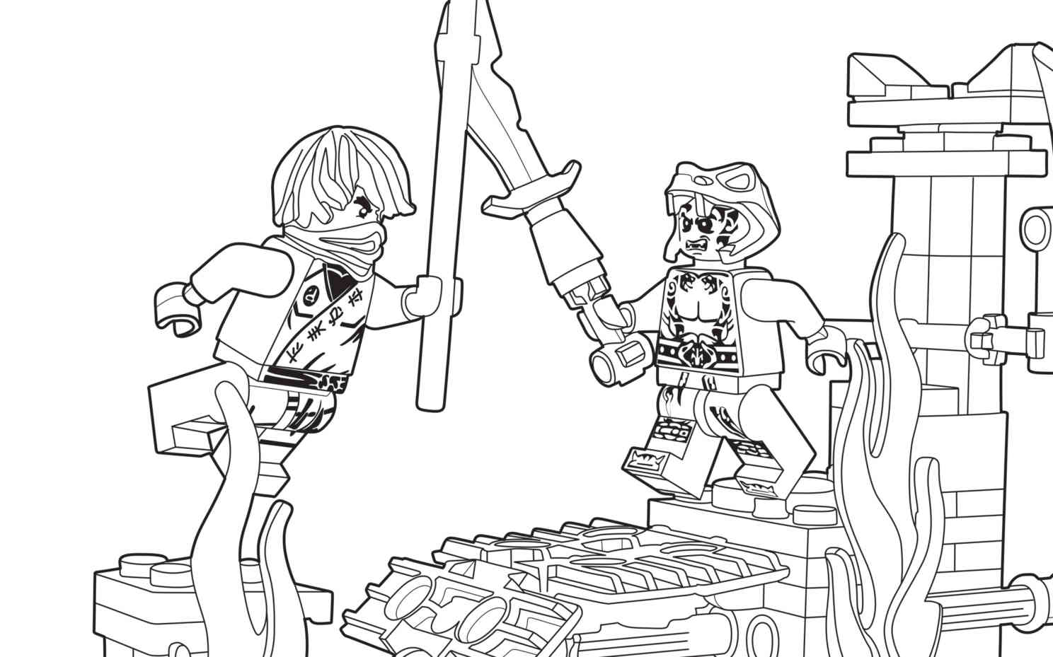 lego ninjago airjitzu coloring pages - photo#7