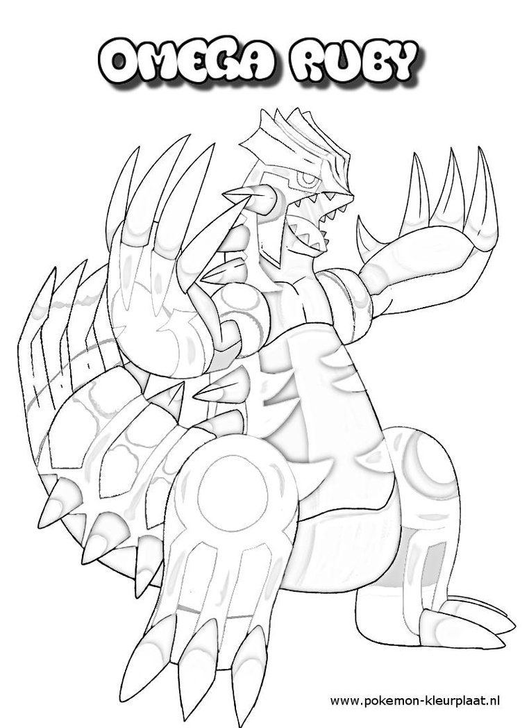 coloring pages groudon coloring home