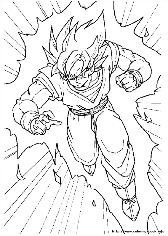 Dragon Ball Z Drawing Books - Coloring Home