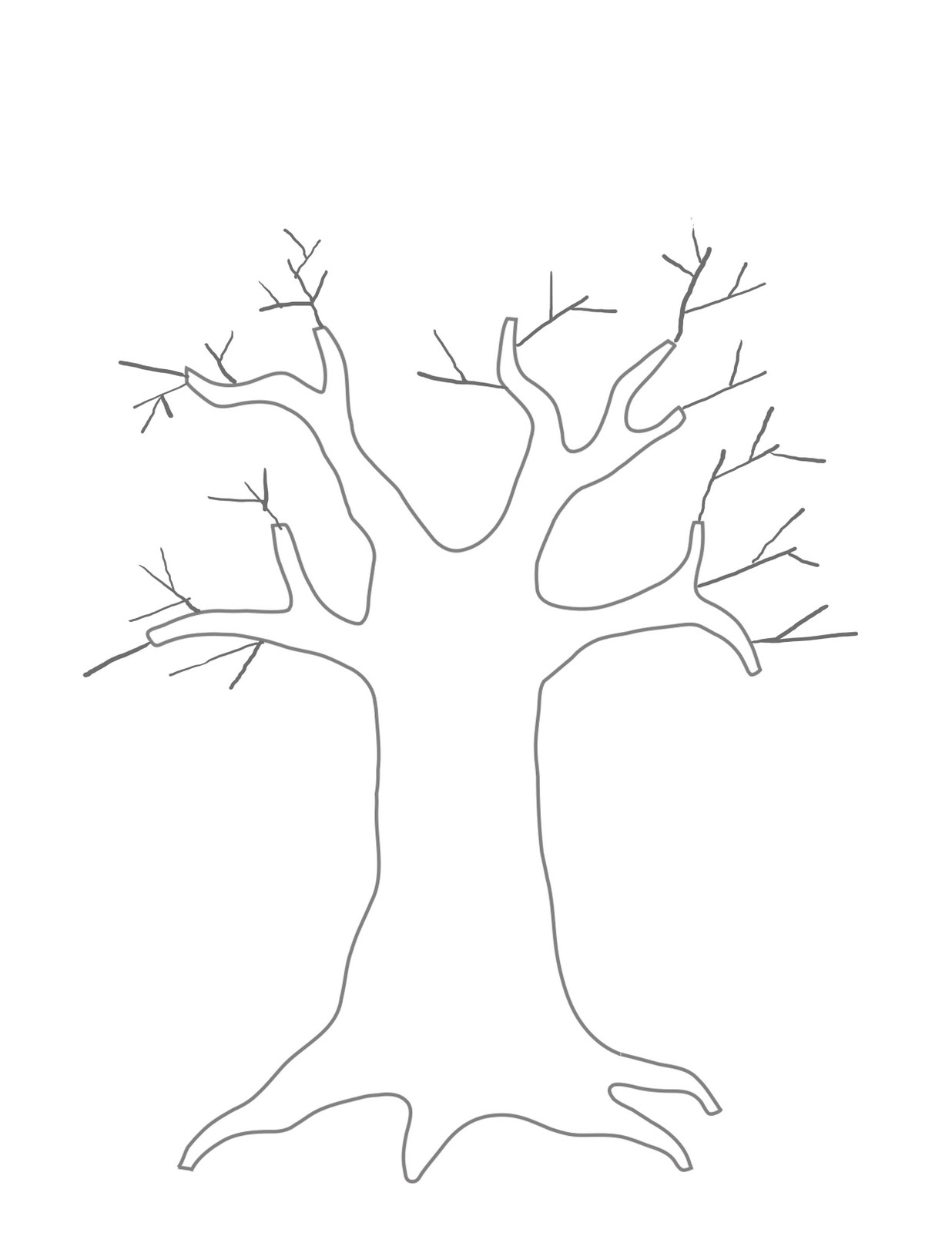 Kids Printable Family Tree Coloring Home