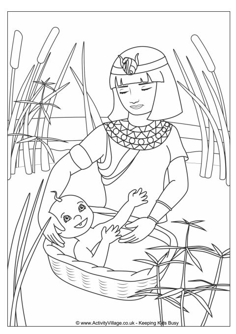 First Passover Coloring Pages