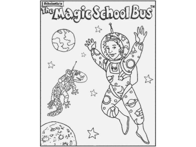 - Magic School Bus Coloring Page Bus 16233 NANOZINE - Coloring Home