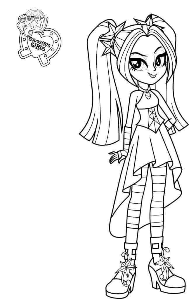 Coloring Pages : 52 Phenomenal My Little Pony Equestria Girl Coloring My  Little Pony Equestria Girl Coloring