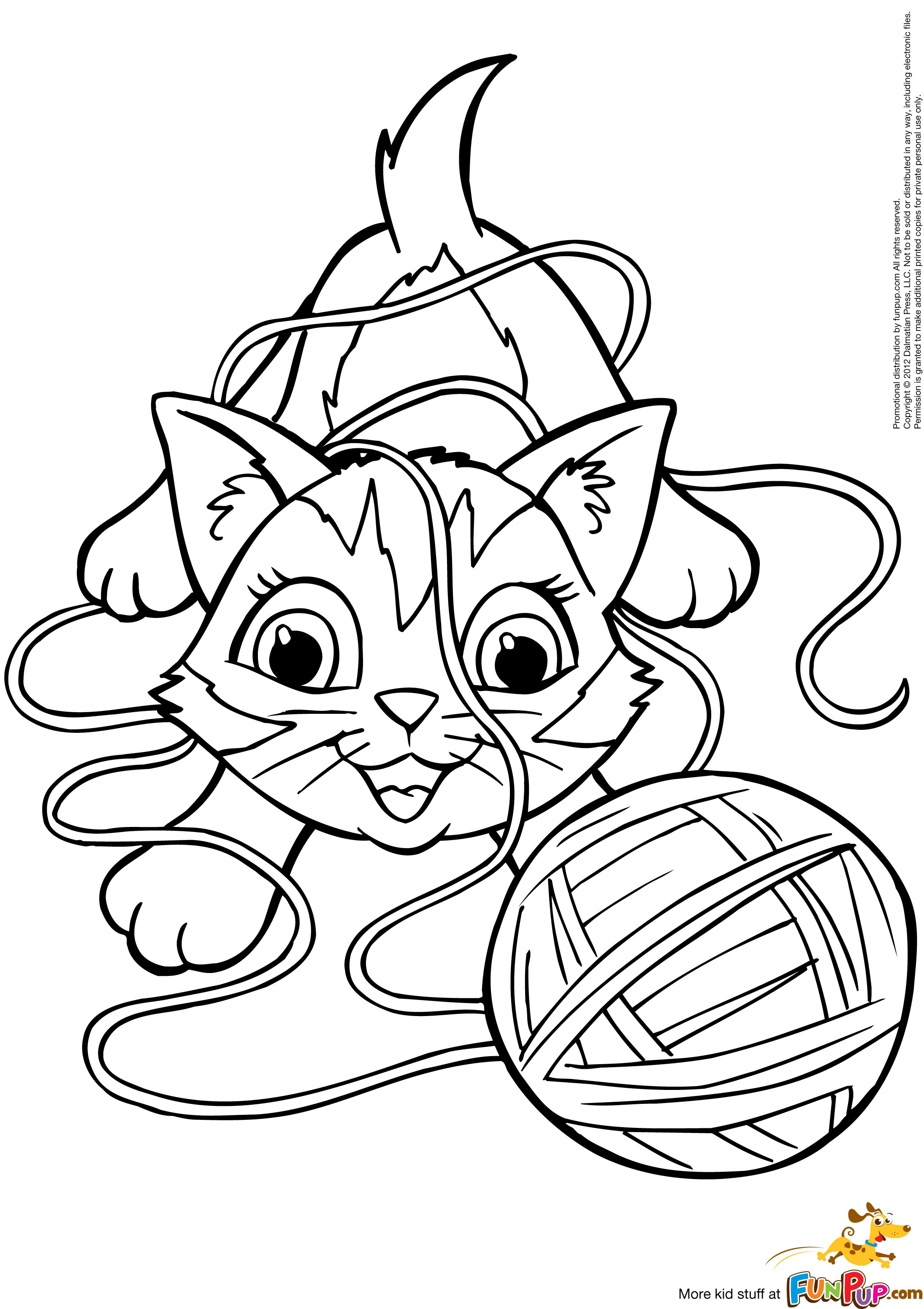 yarn coloring pages - HD2189×3101