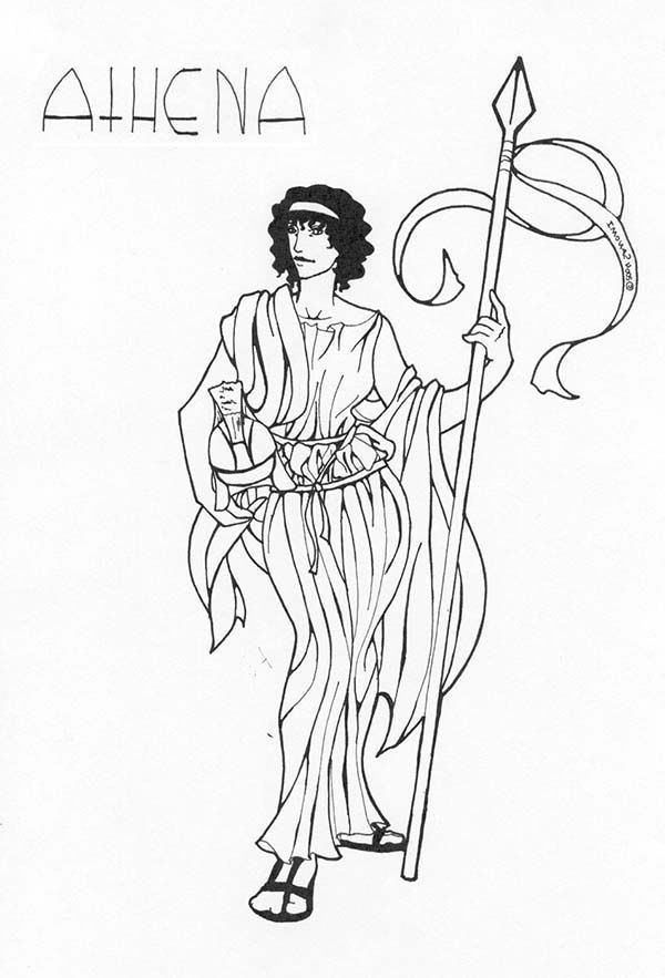 coloring pages online greek myths - photo#48