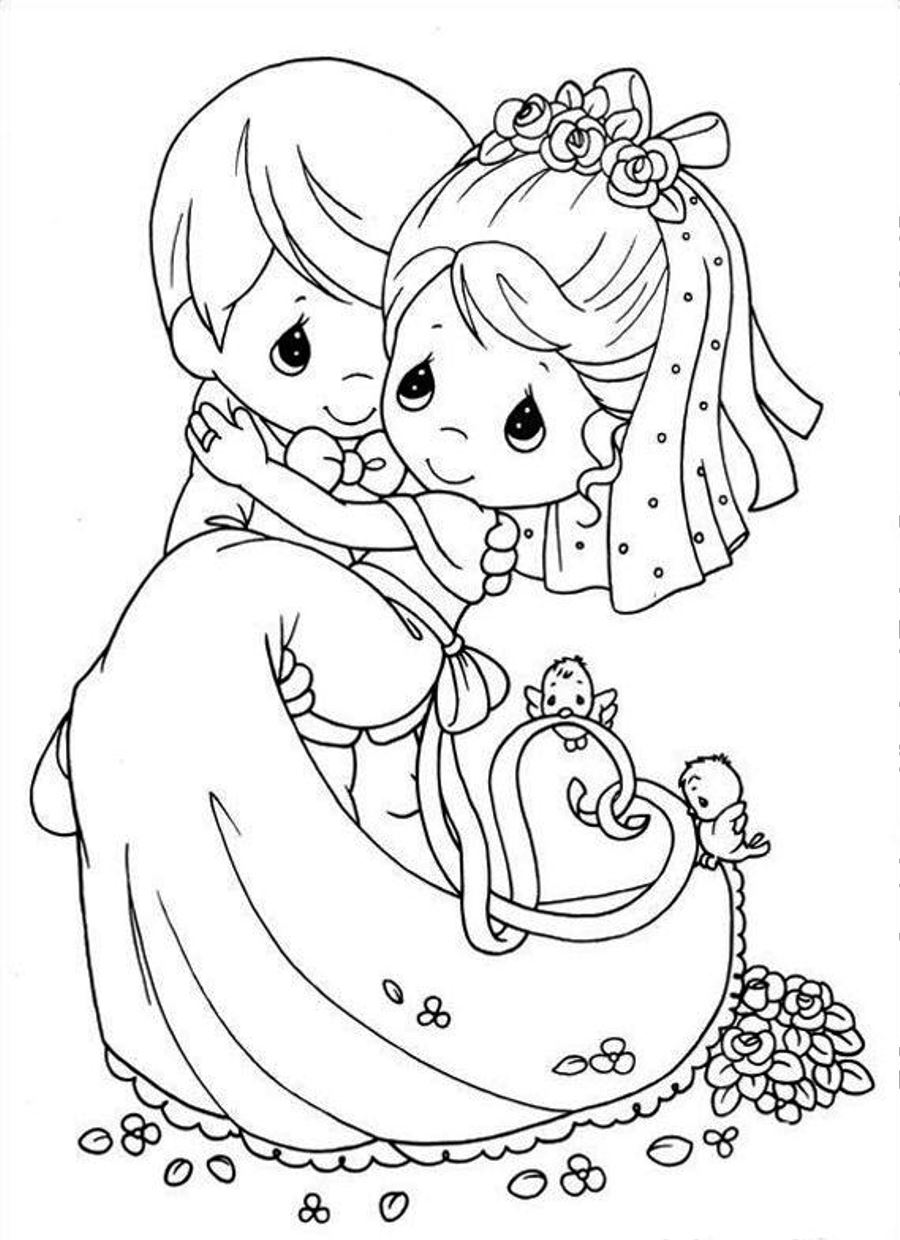 coloring book wedding : Free Printable Coloring Book Wedding Wedding Coloring Book Pages Coloring Pages For Kids And For