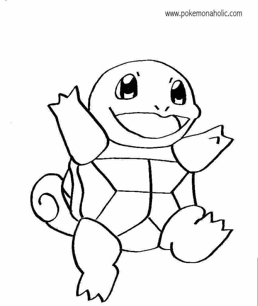 squirtle coloring pages - squirtle coloring page az coloring pages