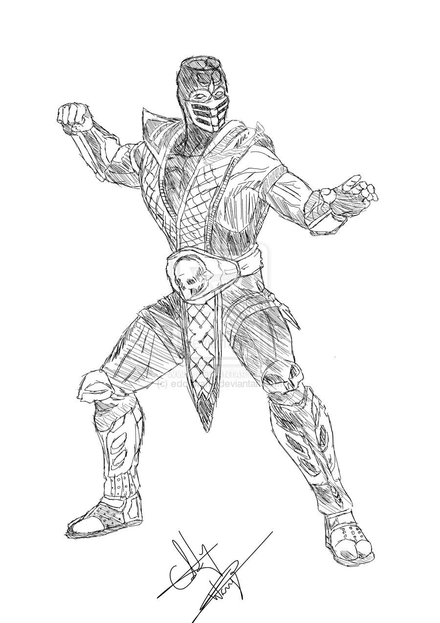 Scorpions coloring pages az coloring pages for Scorpion coloring page