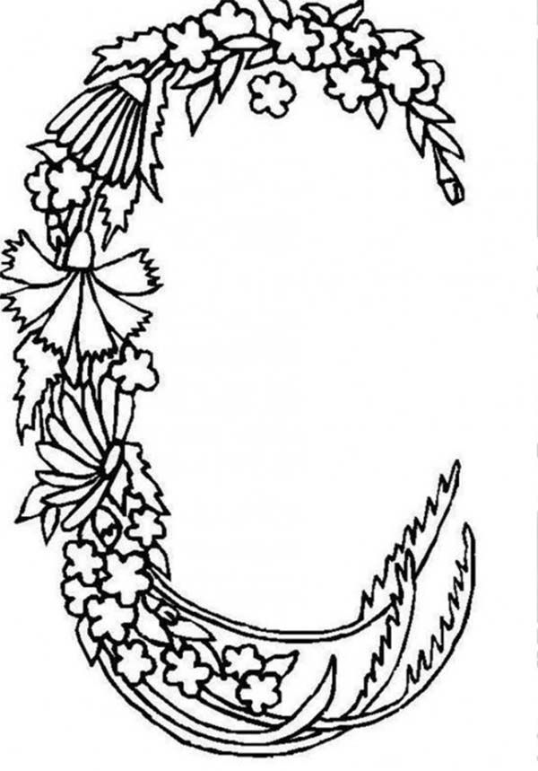 Free letter c coloring pages coloring home for Letter c color page