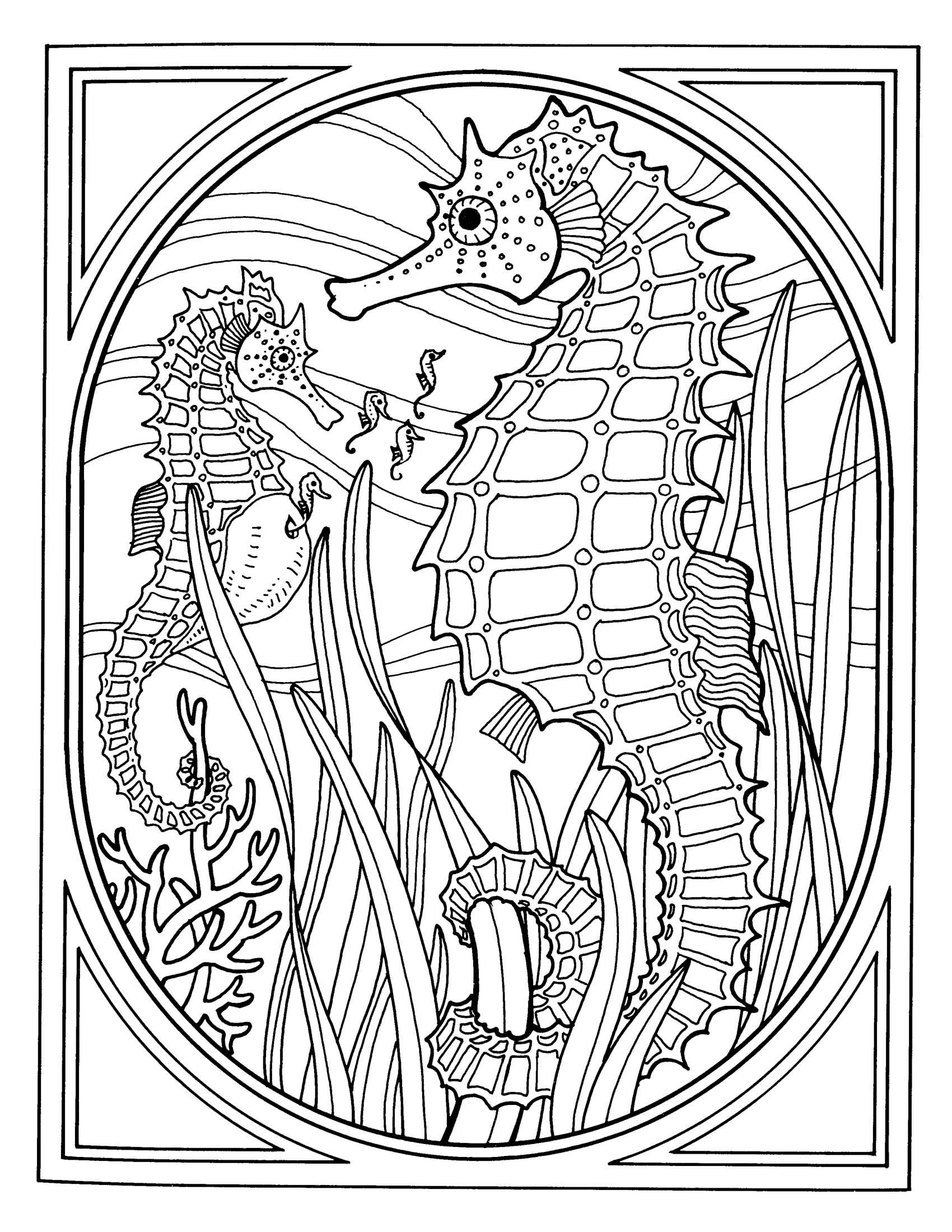Coloring Pages: Adult Coloring Pages Rosette Intricate Patterns ...