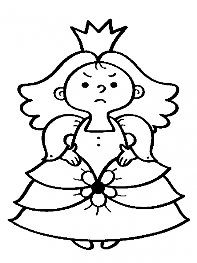 King And Queen Coloring Pages Clipart Panda