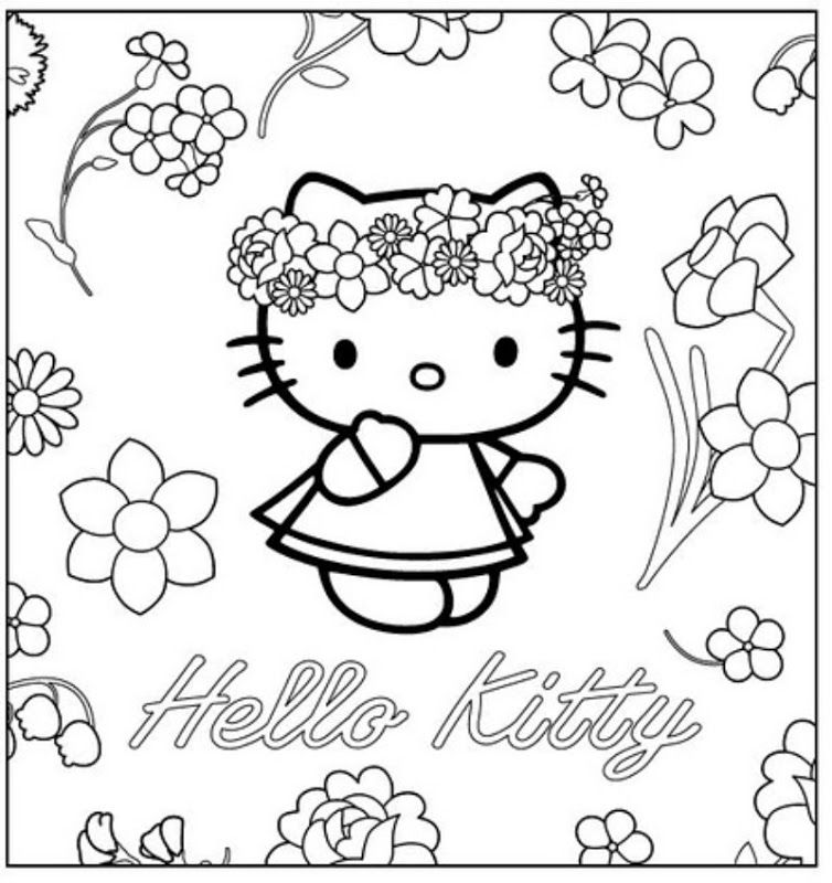 Cool Hippie Coloring Pages