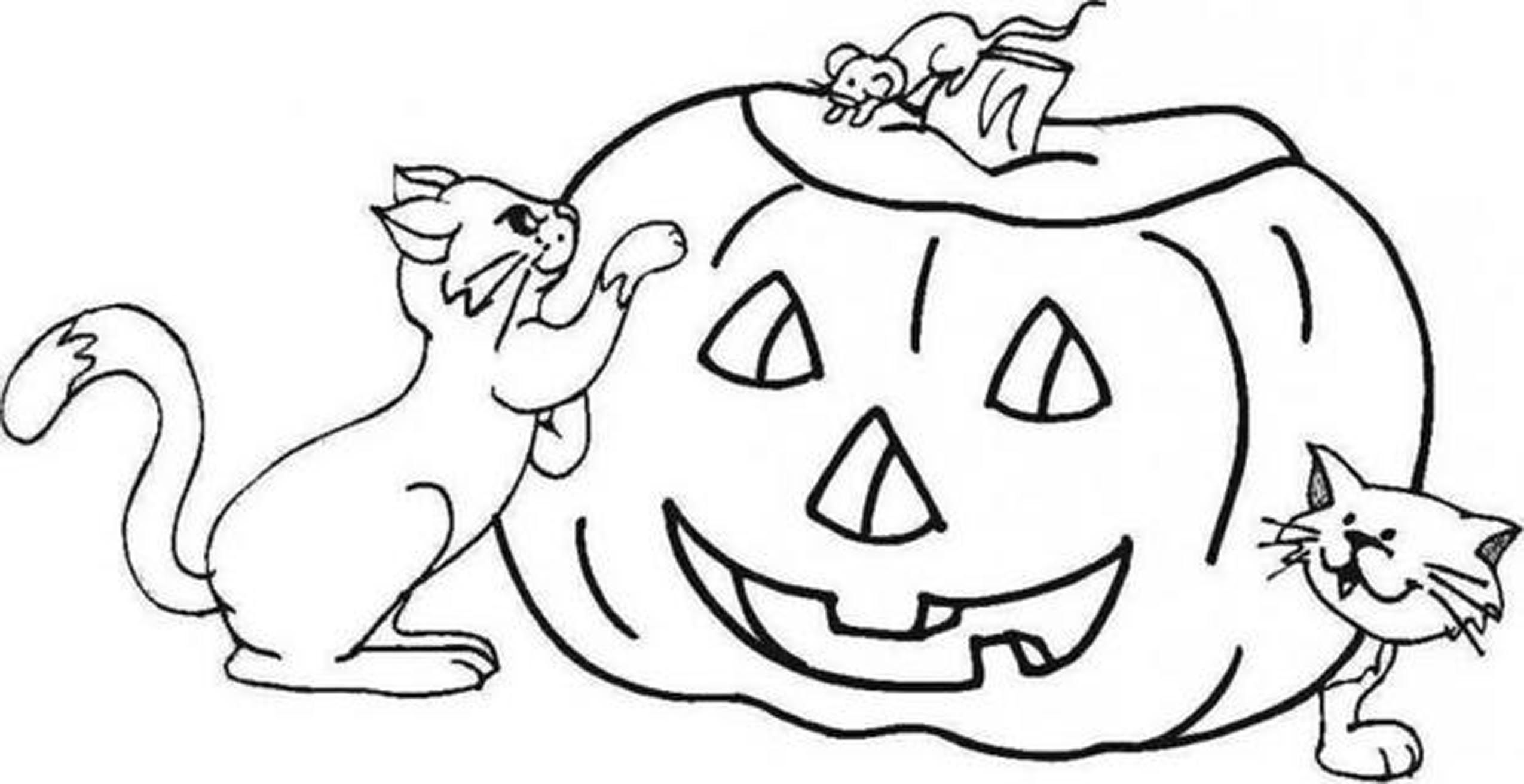 Fall Pumpkin Coloring Pages To Print - Coloring Home