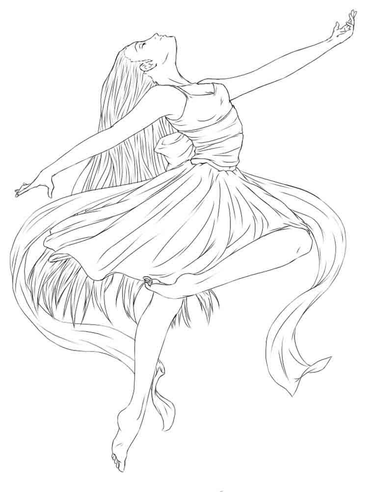 barbie ballerina coloring pages | Barbie Ballerina Coloring Pages - Coloring Home