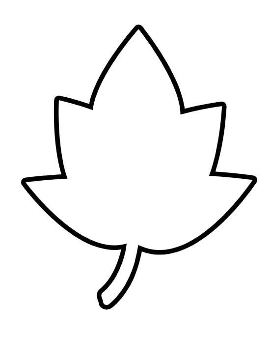 Free Printable Leaf Coloring Sheets - High Quality Coloring Pages