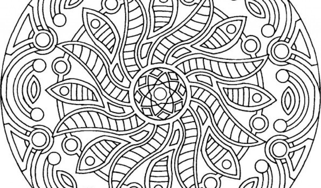 kaleidoscope coloring pages to print - photo #50