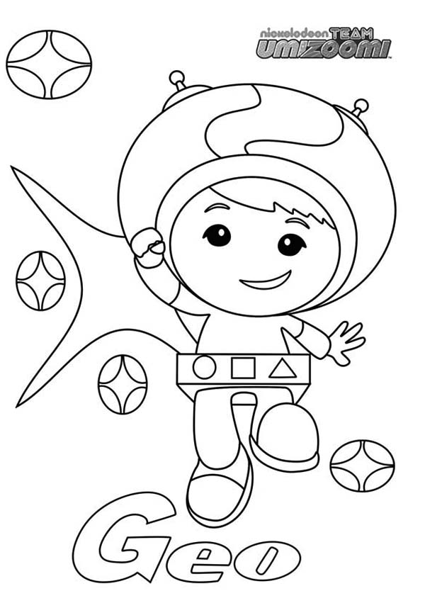 team umizoomi coloring pages print - photo#29