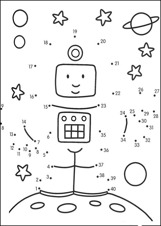 Number Names Worksheets : printable dot to dot to 100 ~ Free ...