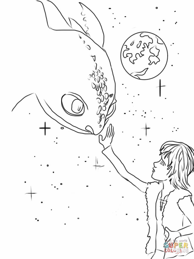 Httyd Coloring Pages Coloring