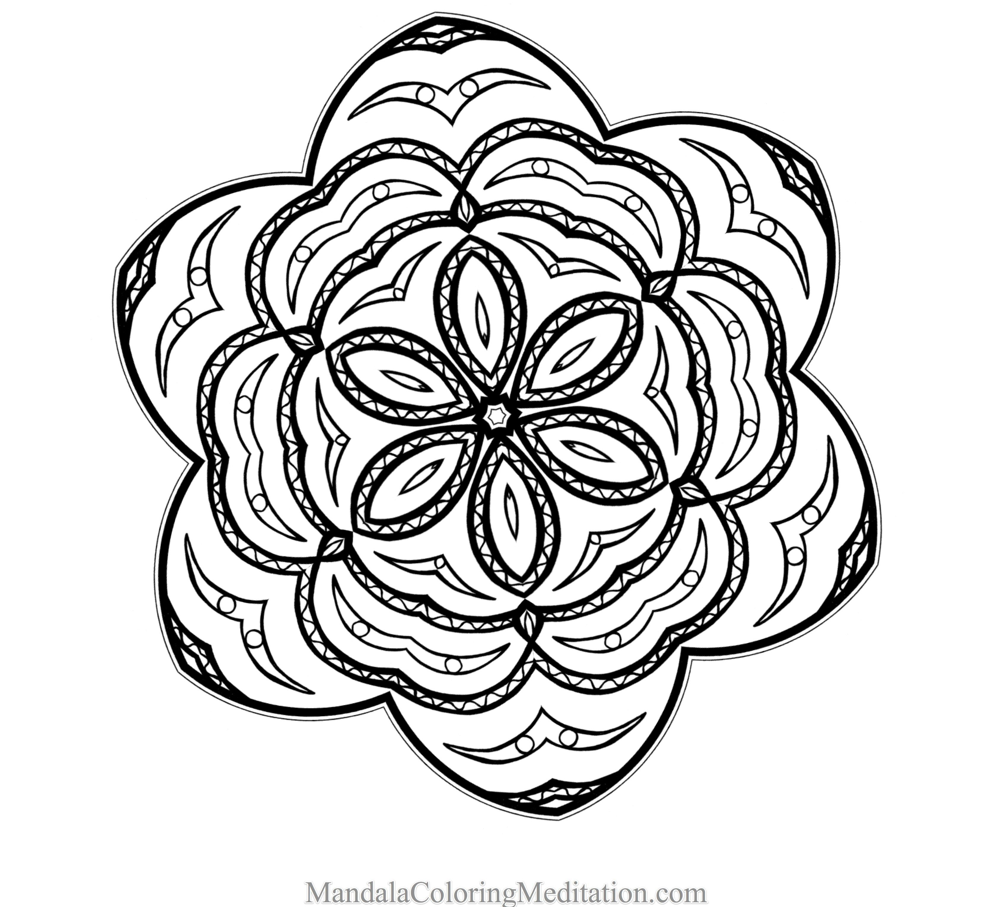 Advanced Coloring Pages Scenery - Coloring Pages For All Ages