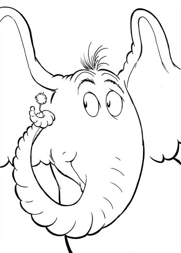 Horton Hears A Who Coloring Page Coloring Home Horton Hears A Who Coloring Pages