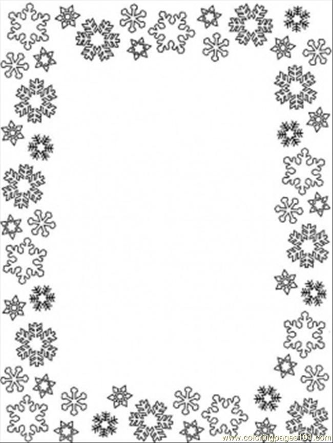 Picture Frame Coloring Page - Coloring Home