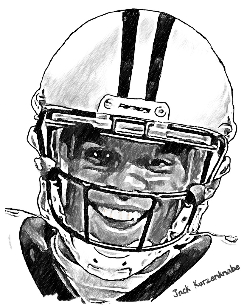 Carolina Panthers Coloring Page - Cam Newton - Coloring Home