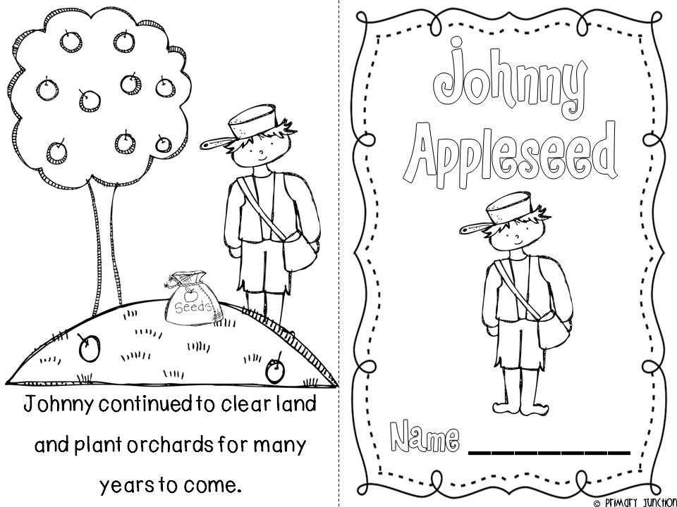 Johnny Appleseed Coloring Pages Coloring Home – Johnny Appleseed Worksheets