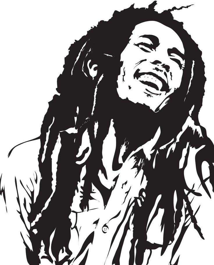 Bob Marley Coloring Page Coloring
