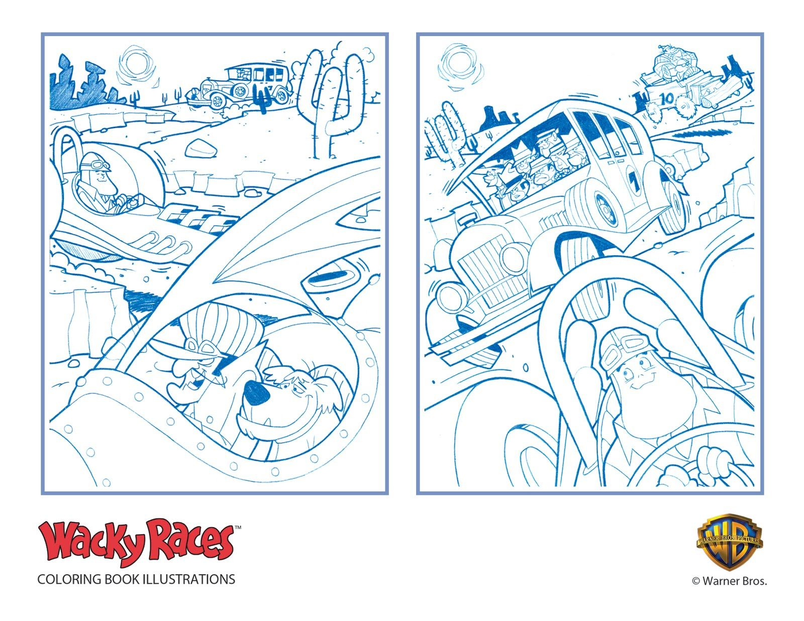 hanna barbera coloring pages - photo#16