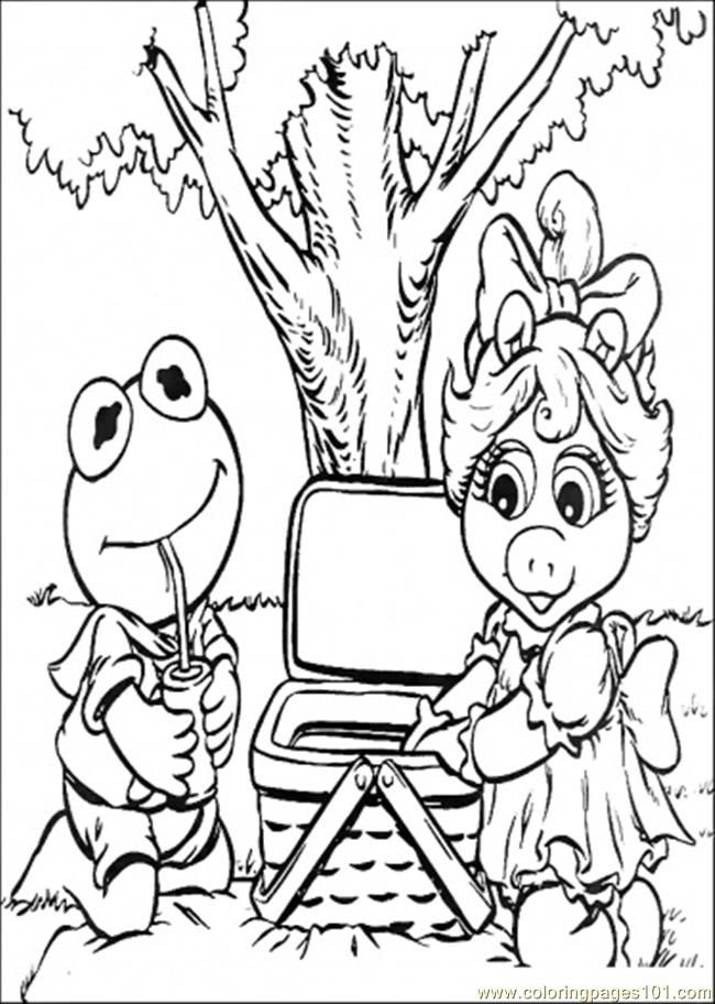 The Muppets Coloring Pages Coloring Home