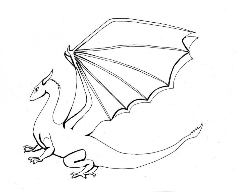 Dragon Coloring Pages Coloring Pages Yoall 58718 Cool