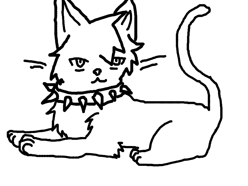 warrior cats coloring pages coloring sheets - photo #12