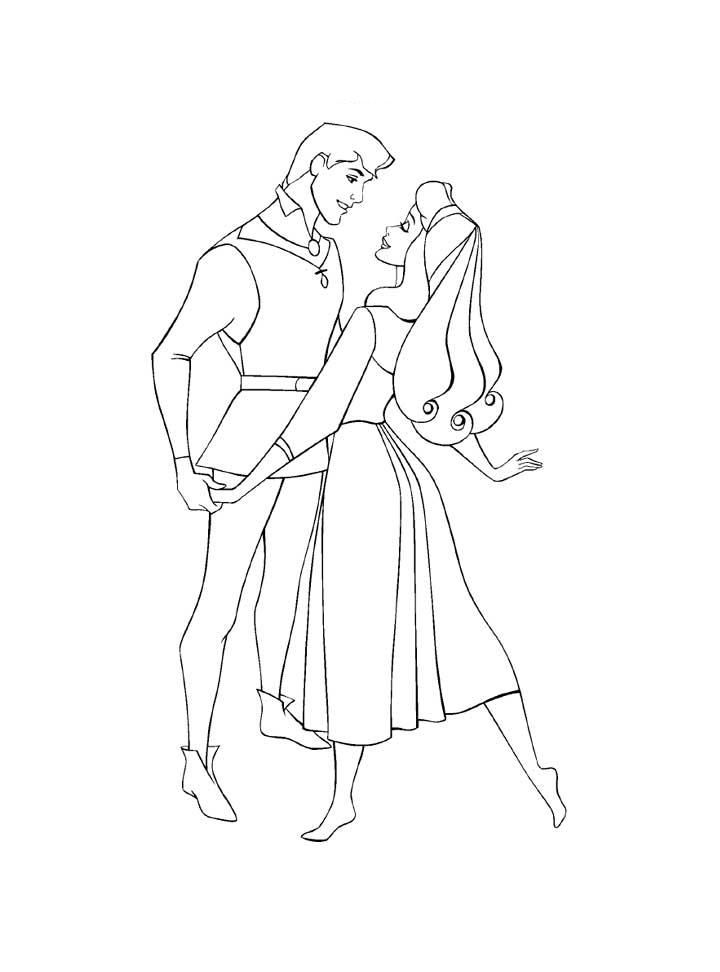Princess Aurora Coloring Pages Coloring Home